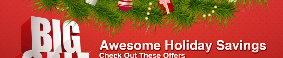 Holiday Offers: Giveaway, 50% OFF