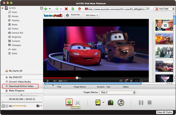 ImTOO iPad Mate Platinum for Mac