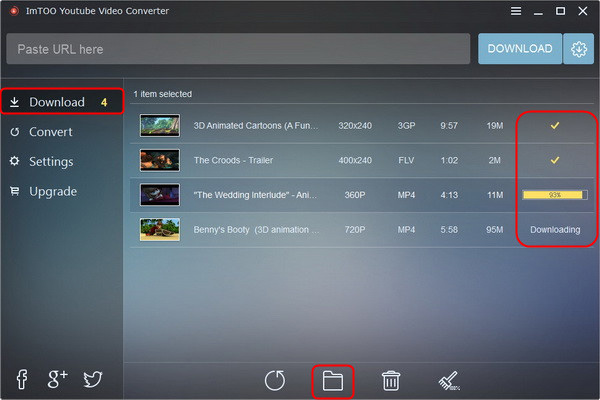 ImTOO YouTube Video Converter