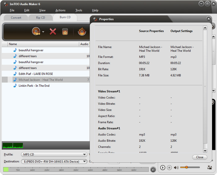 ImTOO audio maker 6