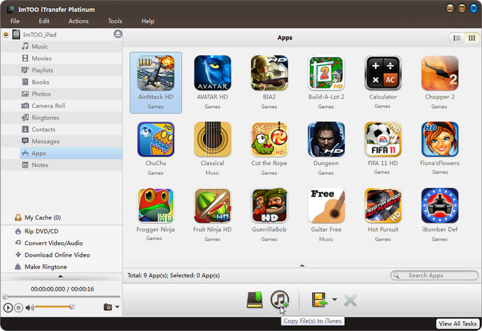 Transfer Multimedia Files among iPhone, iTunes and Computer