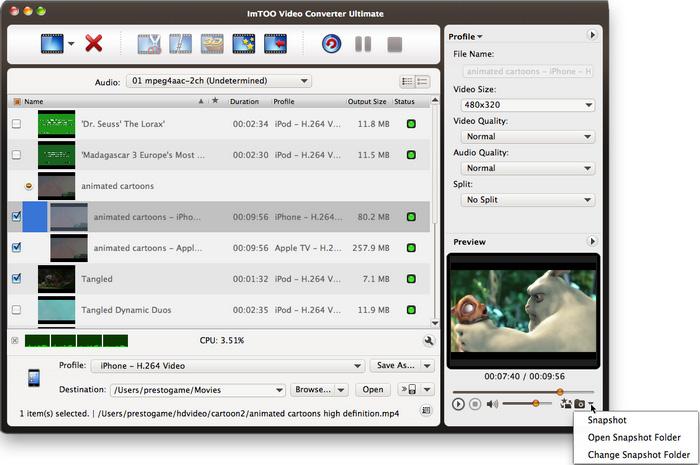 Video Converter Ultimate for Mac start up